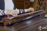 《笑傲江湖沧海一声笑》古琴曲指法视频